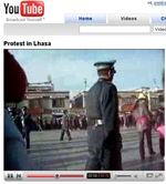 youtubechine thumb YouTube bloqué en Chine suite aux répressions contre les manifestants Tibétains